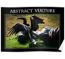 Abstract Vulture Poster