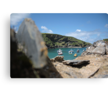 The Bay in Port Isaac Canvas Print