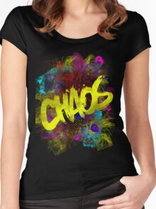 chaos Women's Fitted Scoop T-Shirt