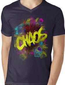 chaos Mens V-Neck T-Shirt
