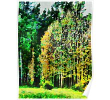 The Speckled Trees Poster