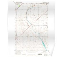 USGS Topo Map Washington State WA Winchester 244751 1966 24000 Poster