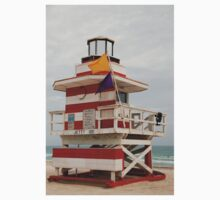 lifeguard tower Baby Tee