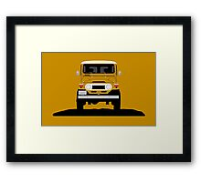The classic offroader Framed Print