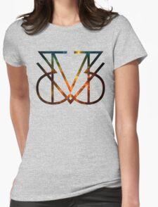 MV3 GALAXY  Womens Fitted T-Shirt
