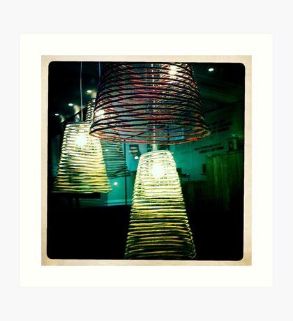 Lights! Art Print