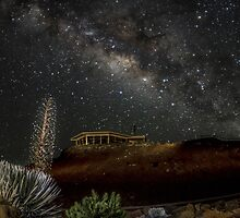 Milky Way over Haleakala by NealStudios