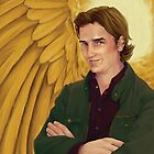 Portrait of an Archangel by Sabrea