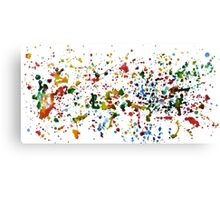 Colorful Aquarelle Canvas Print