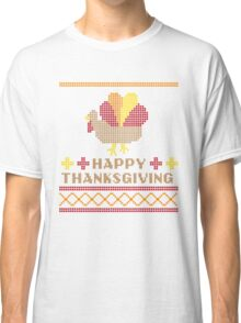 Ugly Thanksgiving Sweater Classic T-Shirt