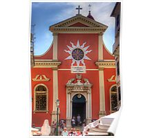 The Church of Mitropoli Panagias Poster