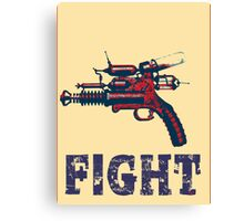 FIGHT steam punk science fiction gun 2012 Canvas Print