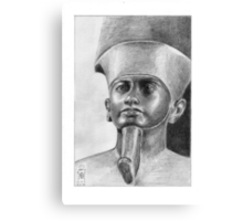Imagining Amun Canvas Print