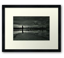 One with Myself Framed Print
