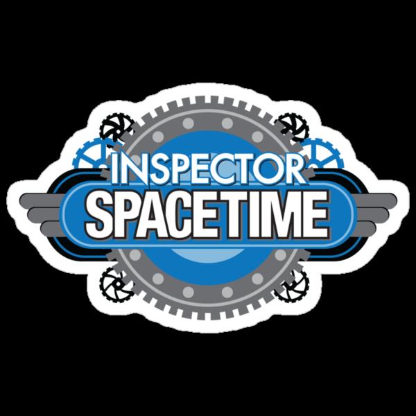 Inspector Spacetime Sticker by rexraygun
