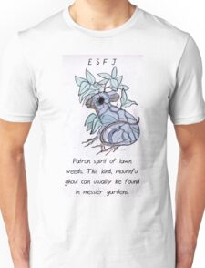 MBTI GHOSTS AND GHOULS- ESFJ PLANT MOUSE LEAF RAT Unisex T-Shirt