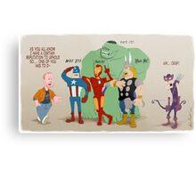 Whedon's Avengers Metal Print