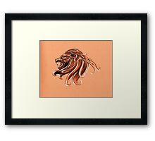 zodiac-leo Framed Print