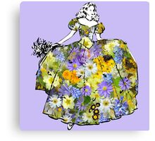 Dancing Flower Princess Canvas Print
