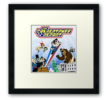 The Colbertpuff Report Framed Print