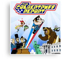 The Colbertpuff Report Canvas Print