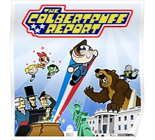The Colbertpuff Report Poster