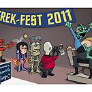 HellBoy geeks out at TrekFest by andyjhunter