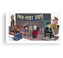 HellBoy geeks out at TrekFest Canvas Print