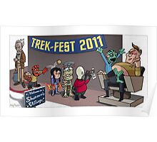 HellBoy geeks out at TrekFest Poster