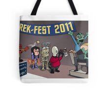 HellBoy geeks out at TrekFest Tote Bag