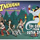Indiana and the Treasure Gang in The Ghost From Outer Space by andyjhunter