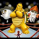 Mario vs the WWF by andyjhunter