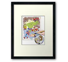 The Office Avengers Framed Print