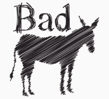 Bad Ass (Donkey) One Piece - Long Sleeve