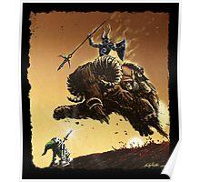 R2D2 vs Ganon Poster