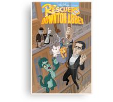 The Rescuers Downton Abbey Metal Print