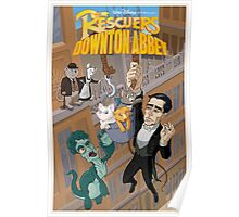 The Rescuers Downton Abbey Poster