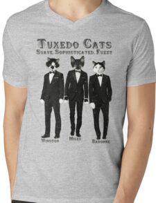 Tuxedo Cats Mens V-Neck T-Shirt