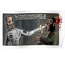 Terminator - Judgement Ape Poster