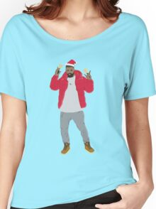 Hip Hop Christmas Women's Relaxed Fit T-Shirt