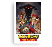Toy Story - Cowboys and Aliens Canvas Print