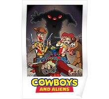 Toy Story - Cowboys and Aliens Poster