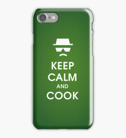 BREAKING BAD IPHONE CASE/ KEEP CALM AND COOK iPhone Case/Skin
