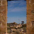 Through the window by Rosie Appleton