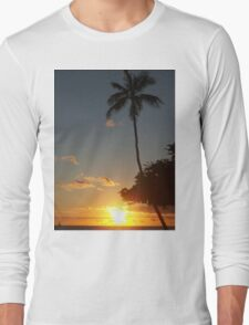 Aloha, Hawaiian Sunset,  Long Sleeve T-Shirt