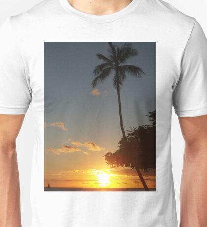 Aloha, Hawaiian Sunset,  Unisex T-Shirt