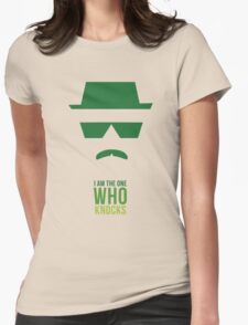 BREAKING BAD/ I AM THE ONE WHO KNOCKS Womens Fitted T-Shirt