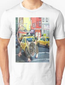 NYC Rat Taxi T-Shirt
