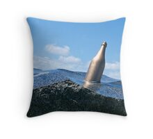 Message in a bottle? Throw Pillow