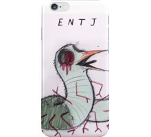 MBTI GHOSTS AND GHOULS- ENTJ BIRD WORM iPhone Case/Skin